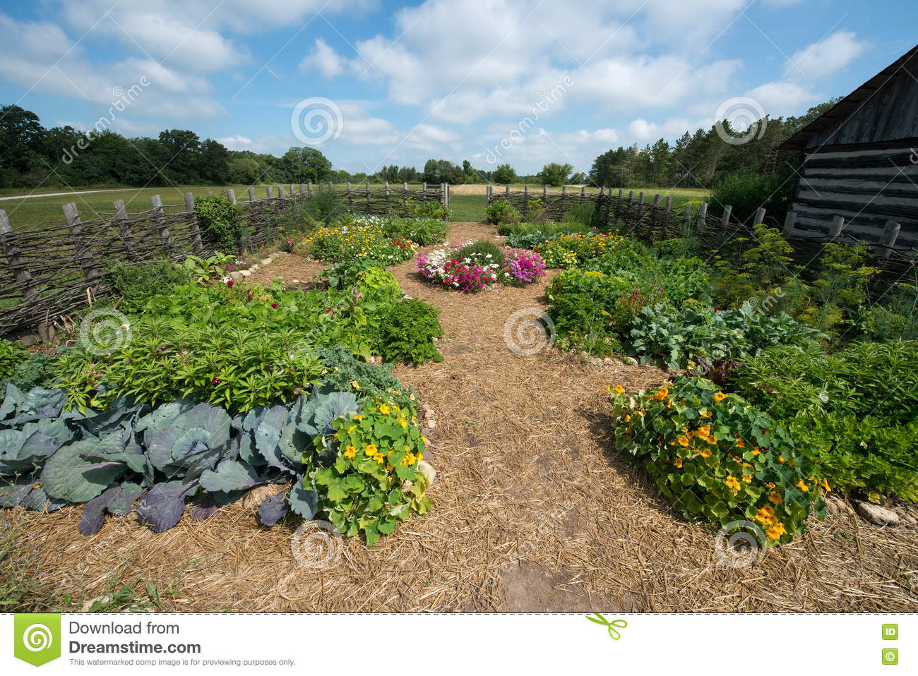 Country vegetable gardens - Agriculture Cabin Country Farm Farming Food Garden Log Rural Rustic Vegetable