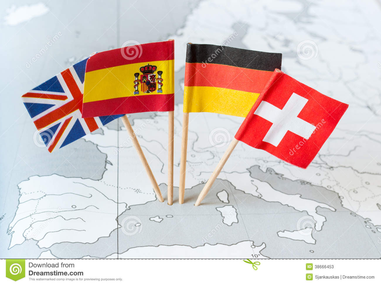 Country flags on map stock image image of detail national 38666453 country flags on map gumiabroncs Images