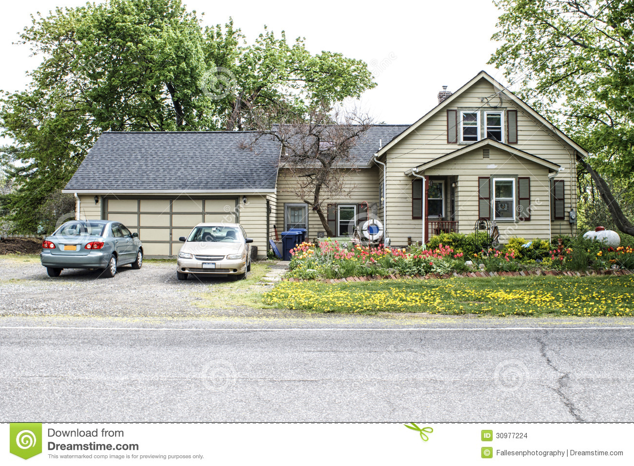 Two Story Home With  Car Garage Prices