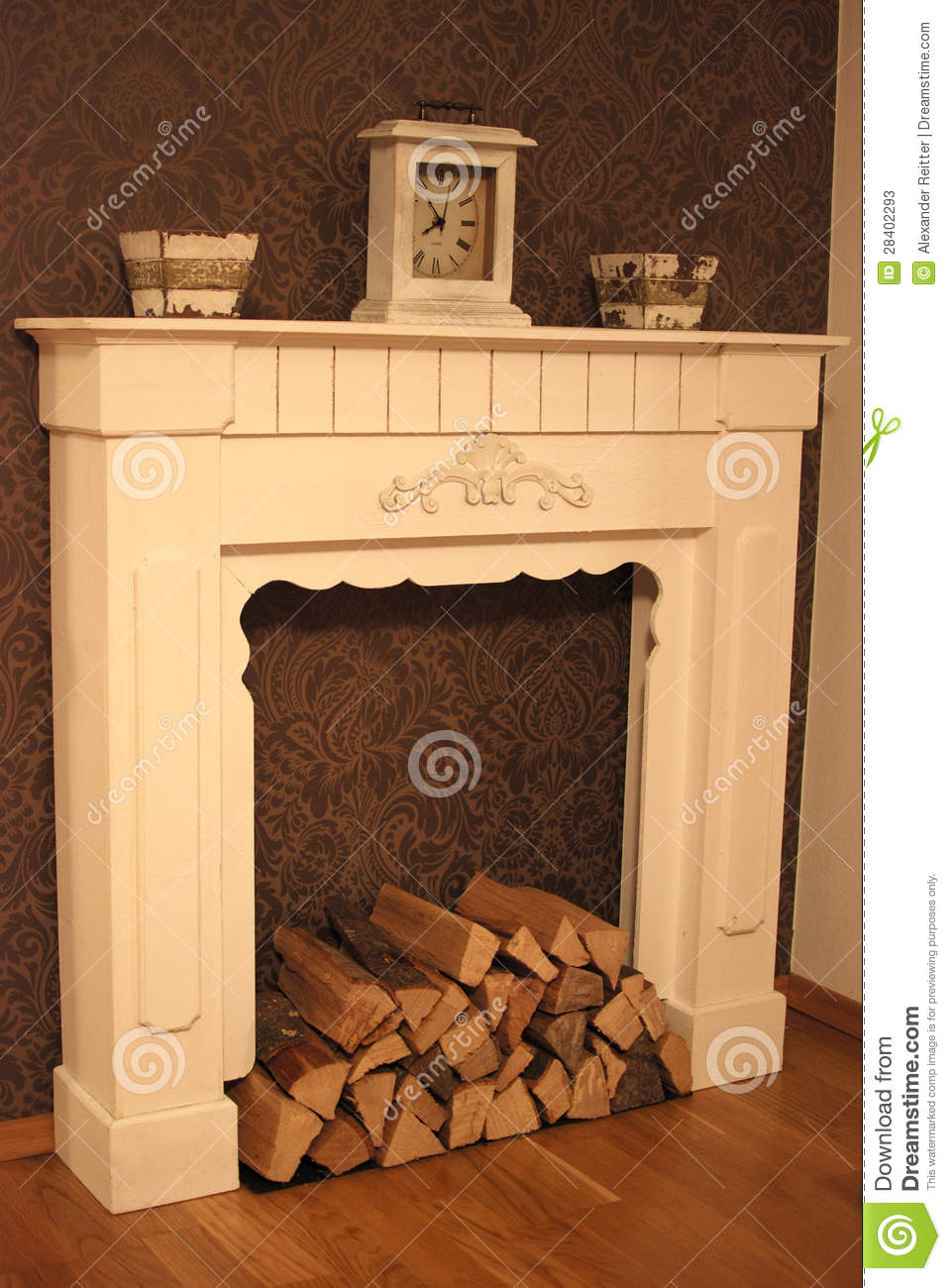 Country Home Style Chimney Stock Photos Image 28402293