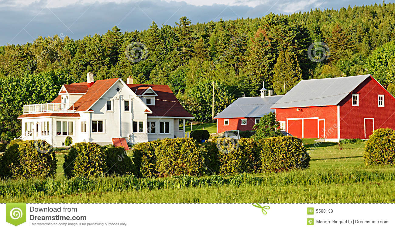 Country Homestead Royalty Free Stock Photos Image 5588138