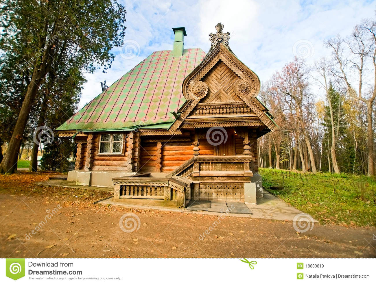 Country house stock image image of russia home land for Country house online