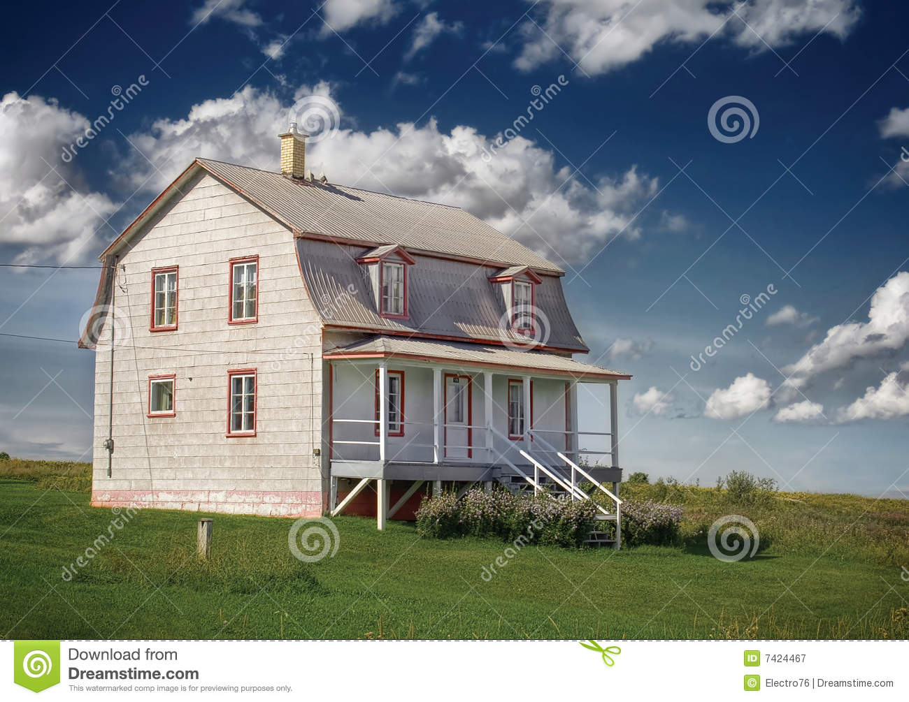 Country house royalty free stock photography image 7424467 for Country house online