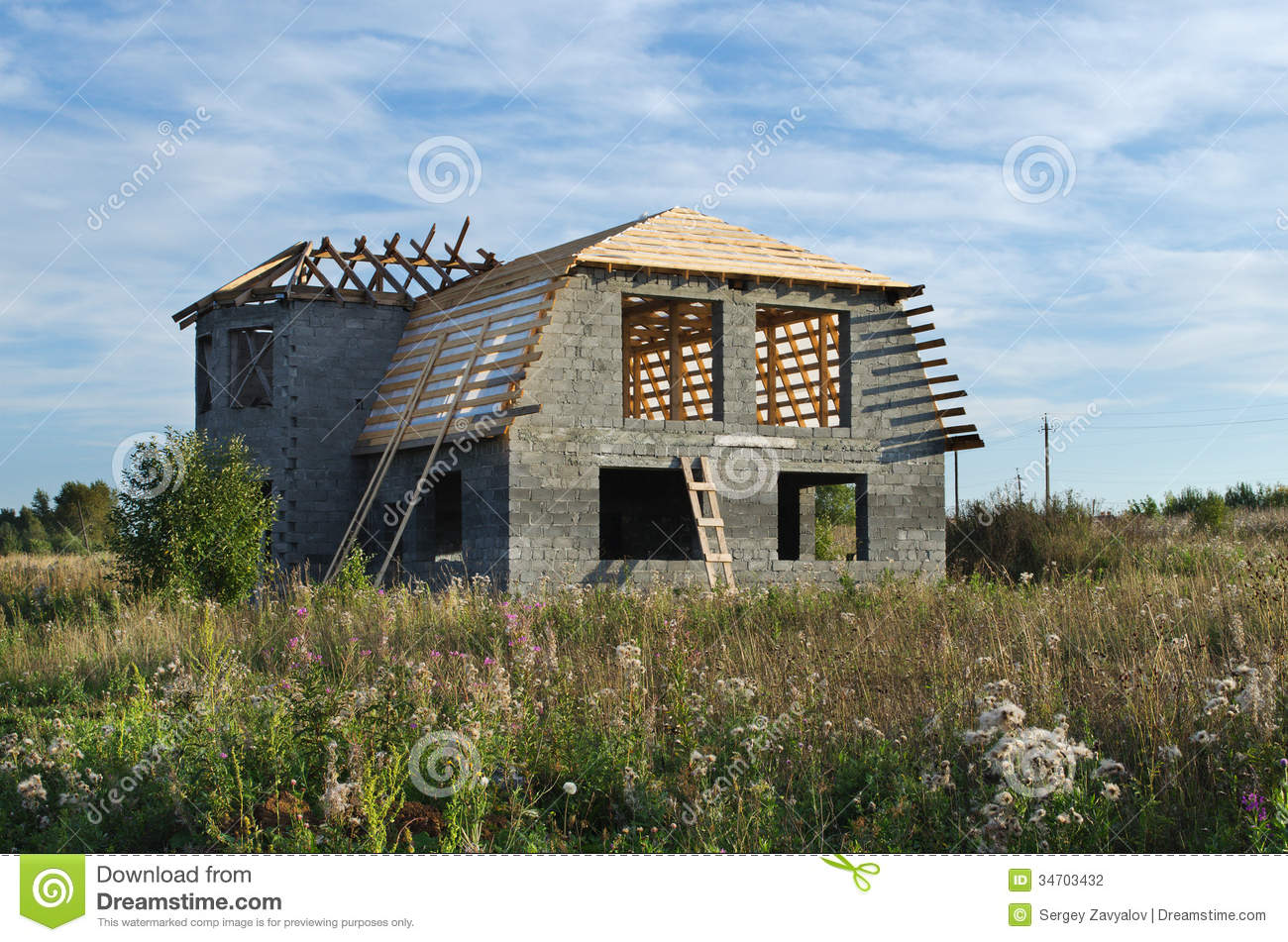 Country House Building Stock Photography Image 34703432