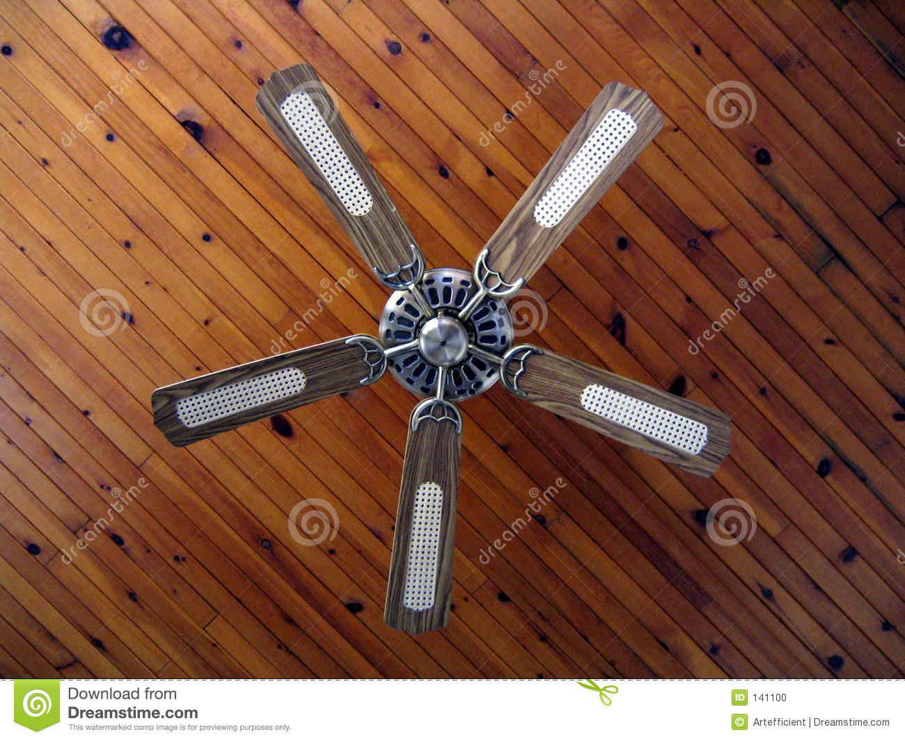 Country house ceiling fan stock photo. Image of ventilation - 141100 for Ceiling Fan Bottom View  56bof