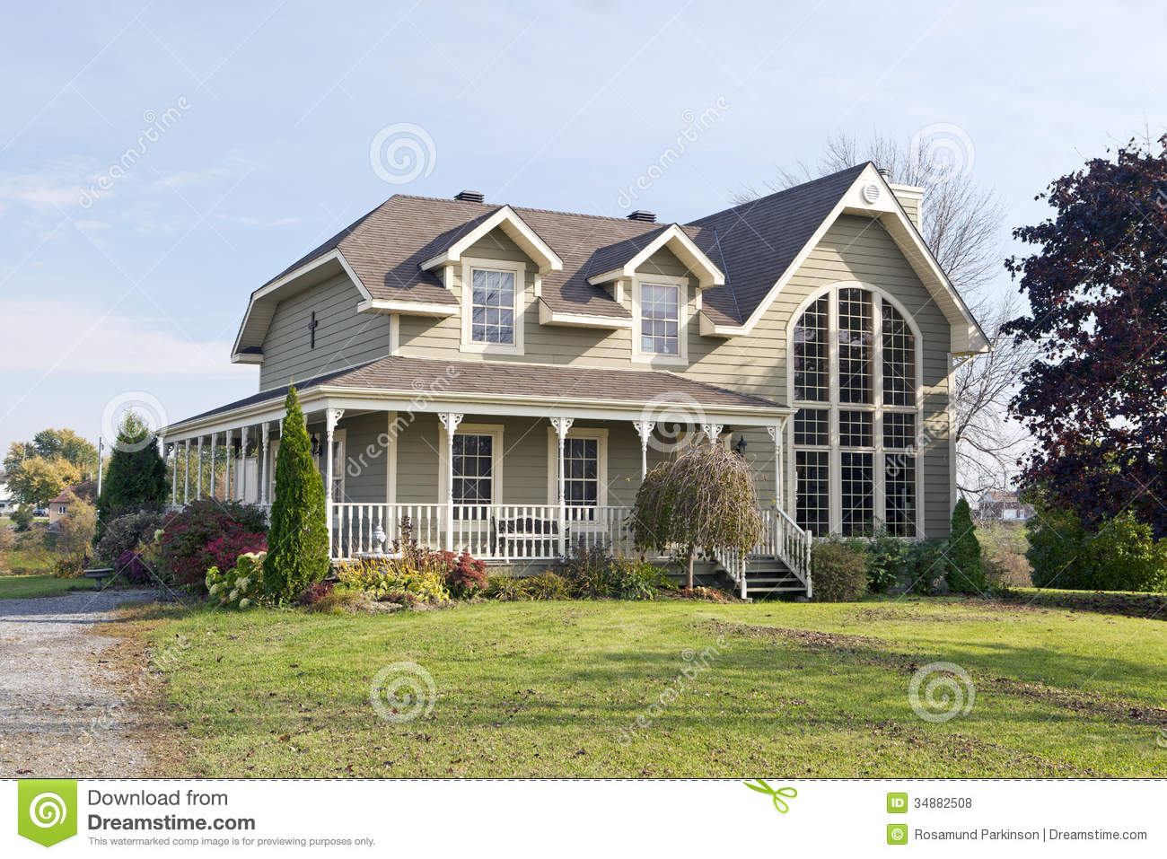 Country House Royalty Free Stock s Image