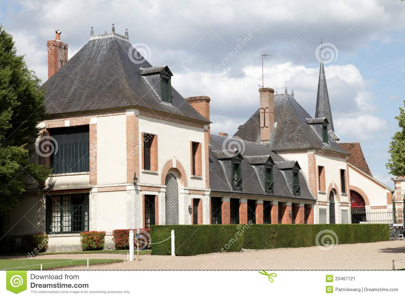 Country House In France Stock Image Image 20467121