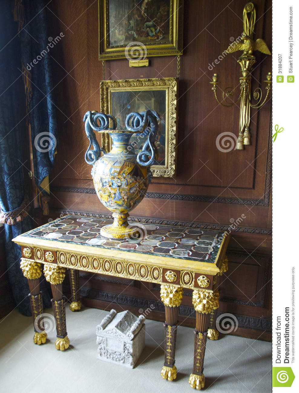 Country House Furniture Editorial Photography Image 31884207