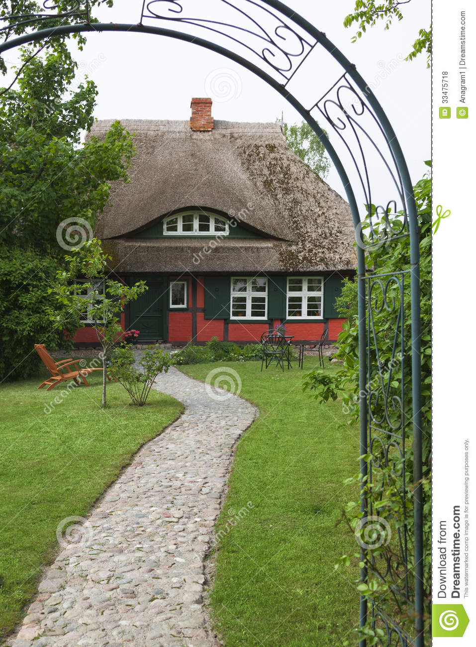 Country House In Germany Royalty Free Stock Photos Image