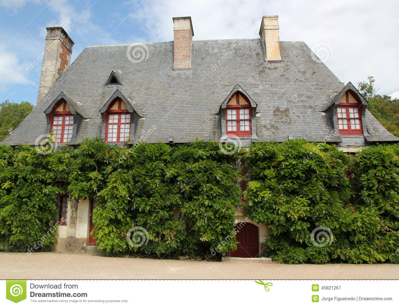 Country House Stock Photo Image 45821267