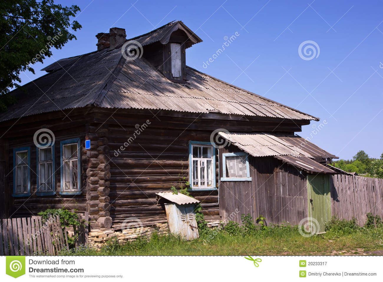 Country house in the russian village stock image image for Country house online