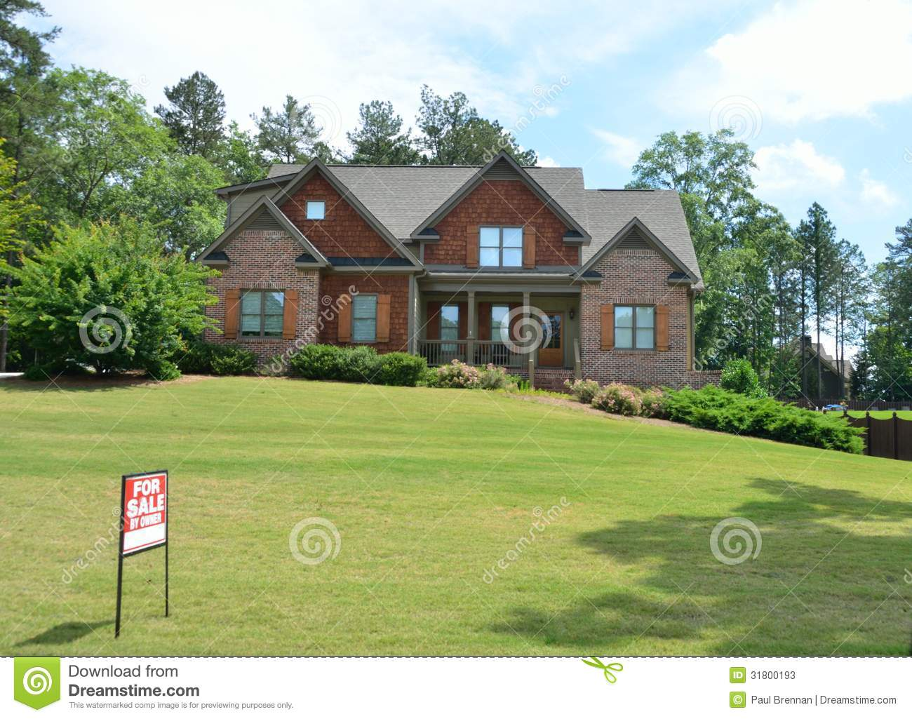Country house for sale stock photos image 31800193 for Country mansion for sale