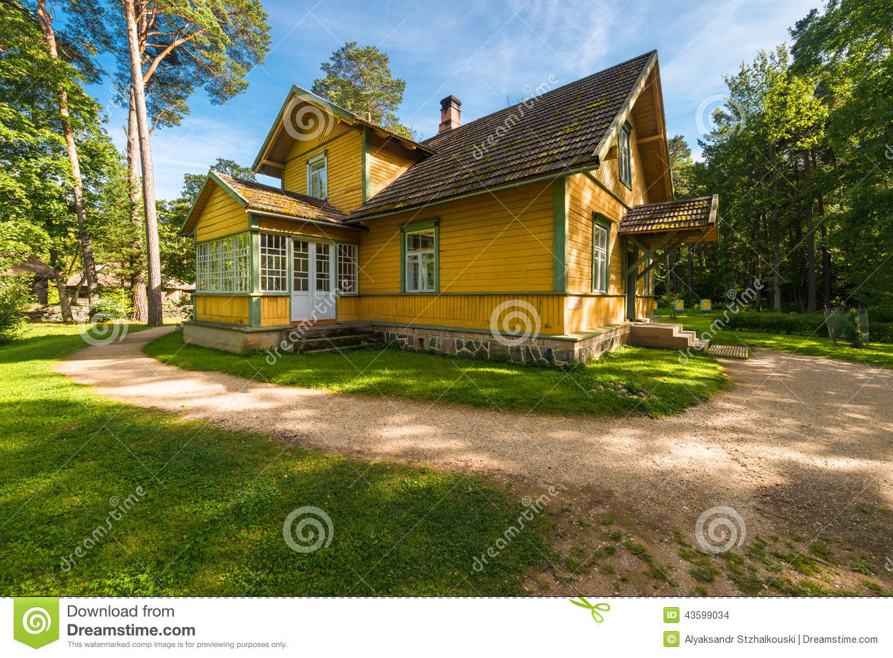 Country house royalty free stock image for Country house online