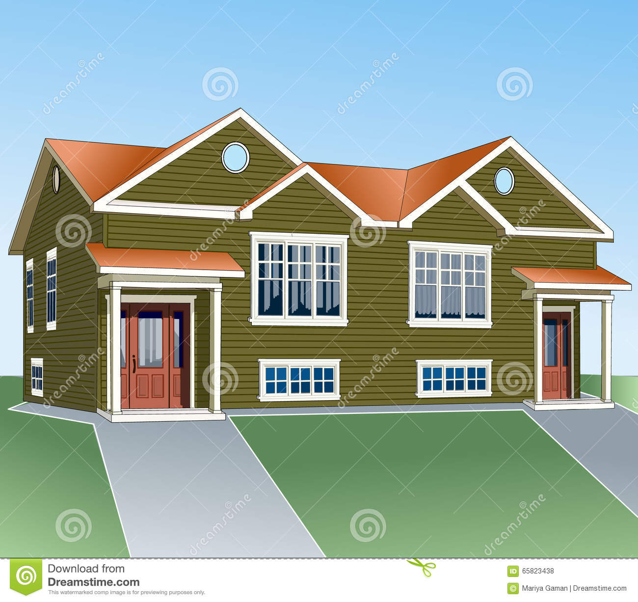 Simple building for Simple house structure design