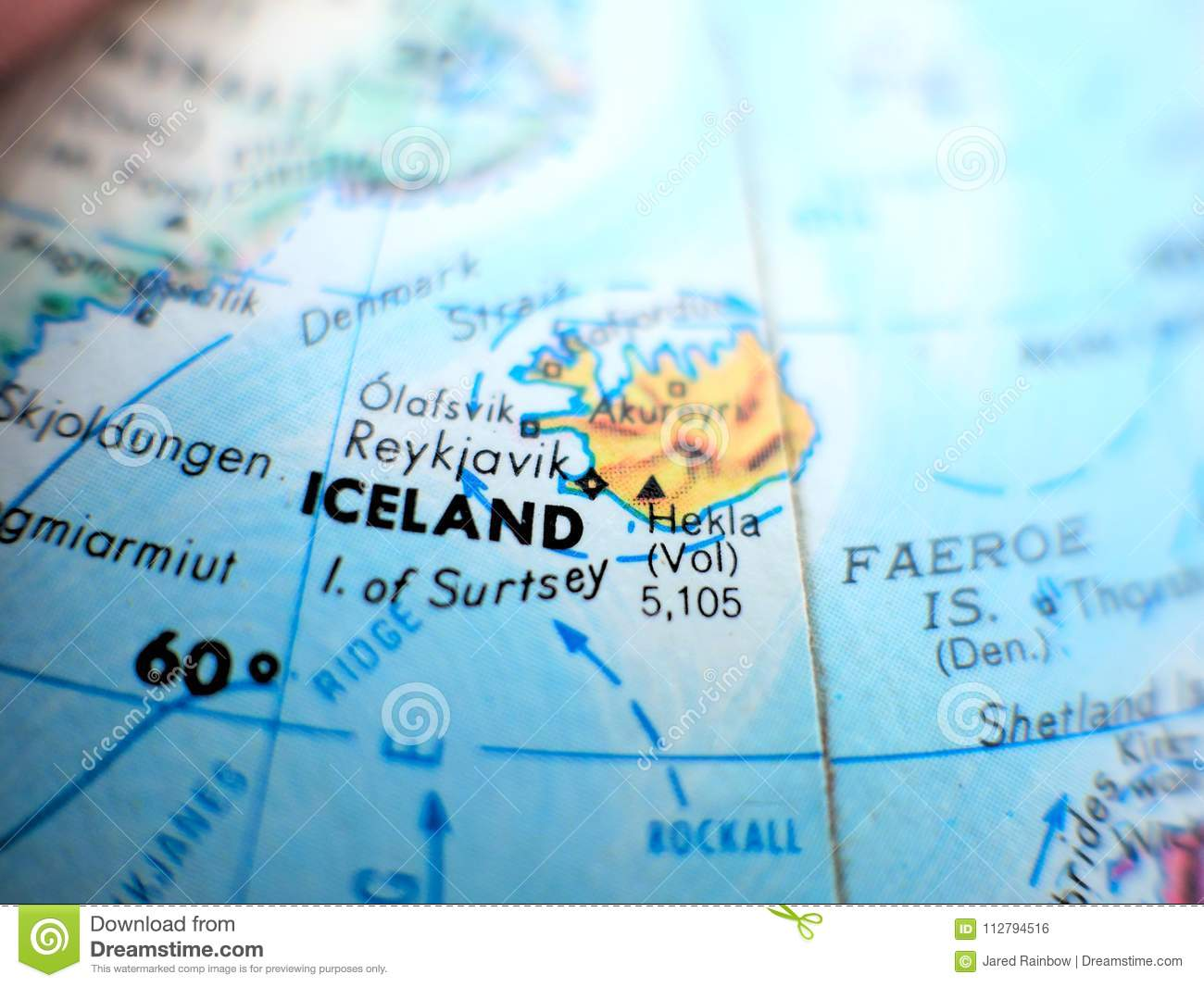 Country of iceland focus macro shot on globe map for travel blogs country of iceland focus macro shot on globe map for travel blogs social media website banners and backgrounds gumiabroncs