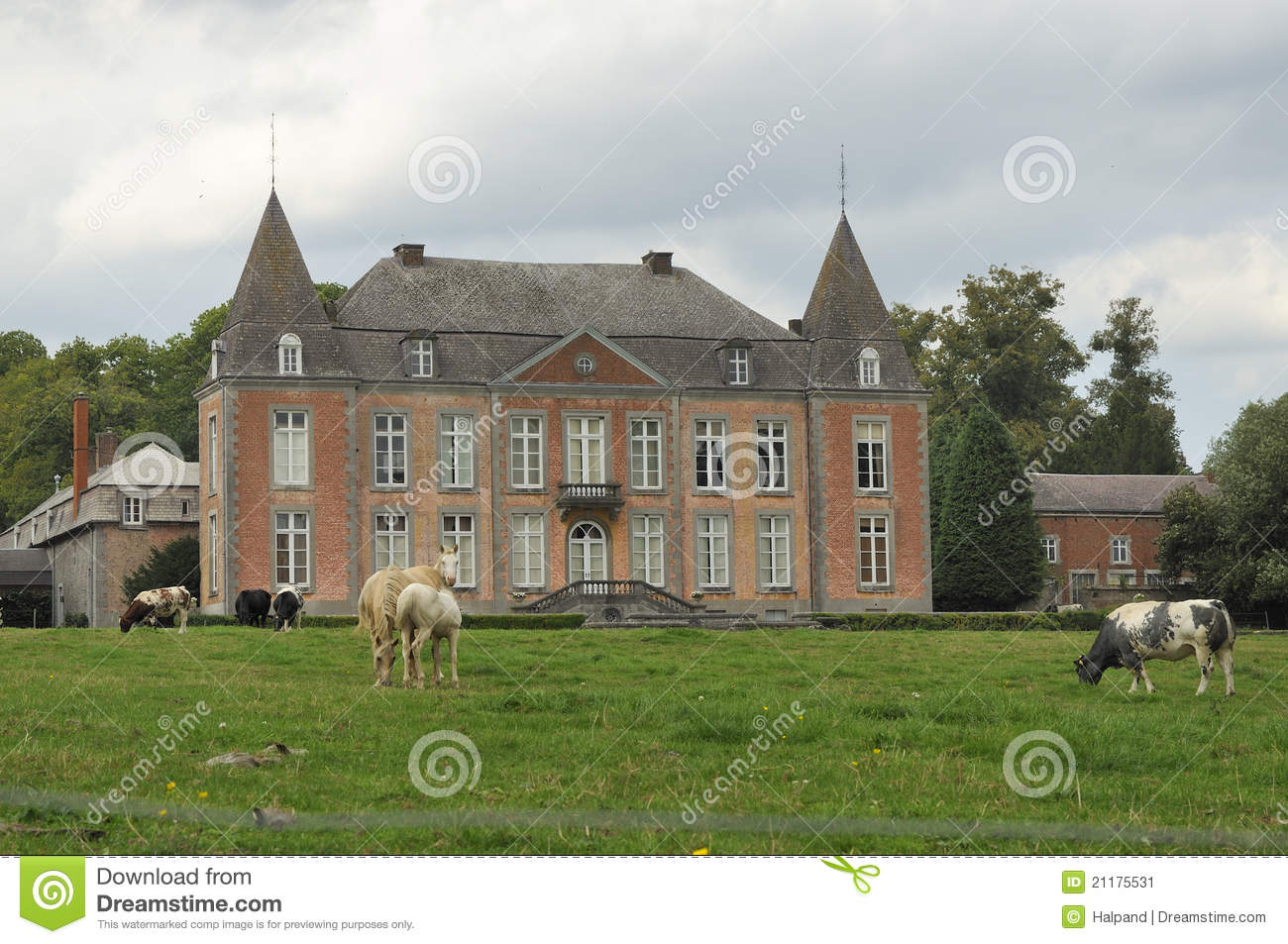 Country manor, ardennes