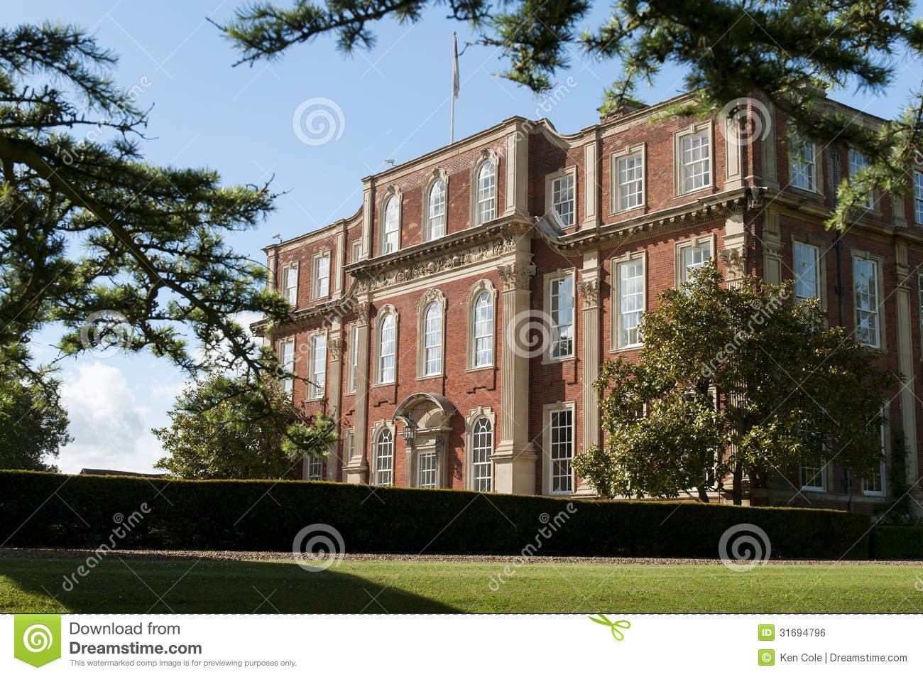 Country mansion Chicheley Hall