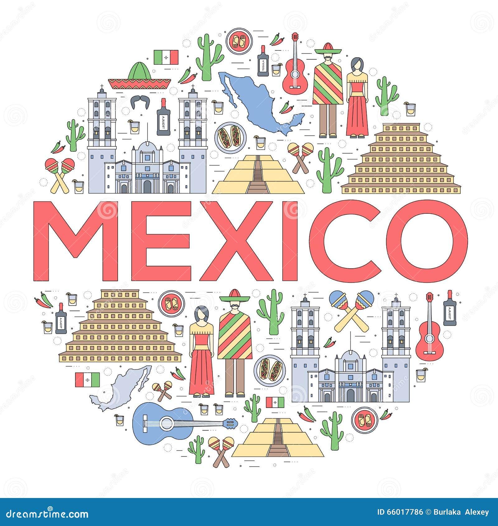 Country Mexico Travel ... Mexico Country Vector