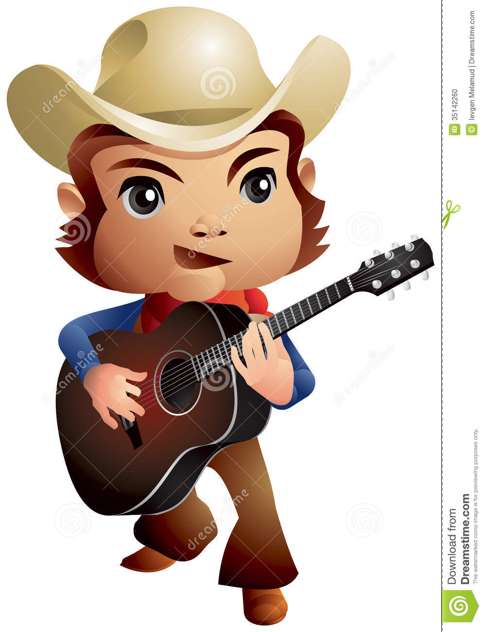 Country Music Cowboy Stock Photo - Image: 35142260