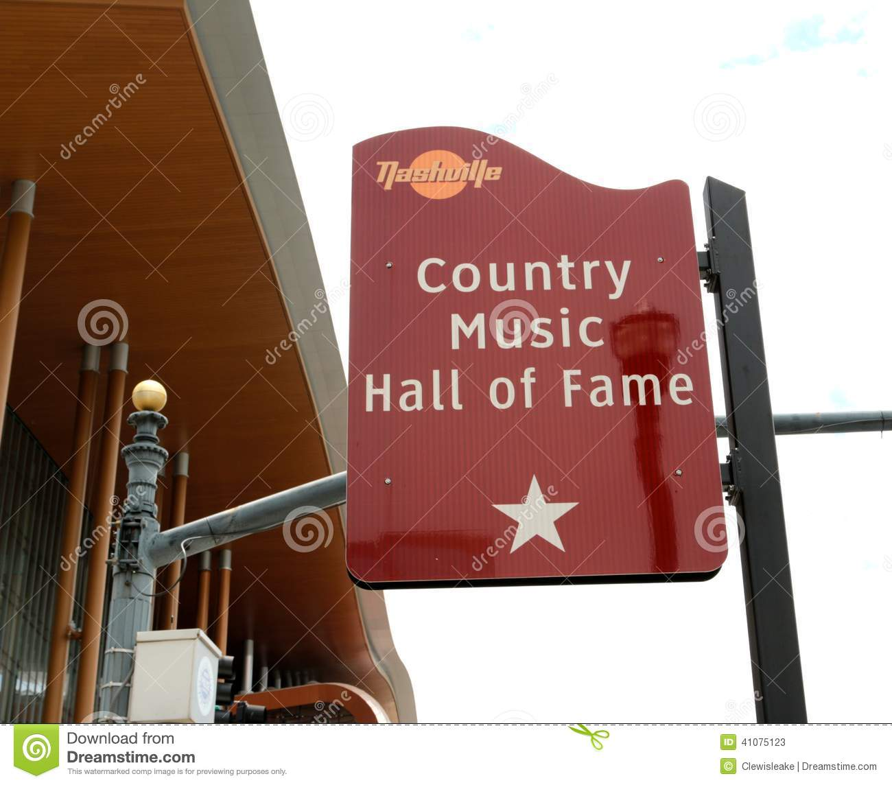 Country Music City Stock Photos Country Music City Stock: The Country Music Hall Of Fame Sign, Nashville Tennessee