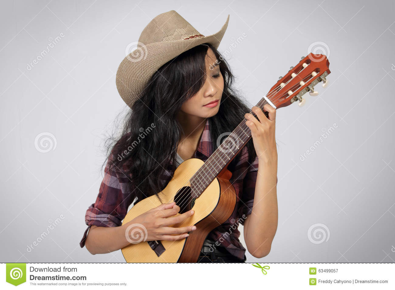 0e8fae0c1c208 Country musician woman stock image. Image of fingering - 63499057