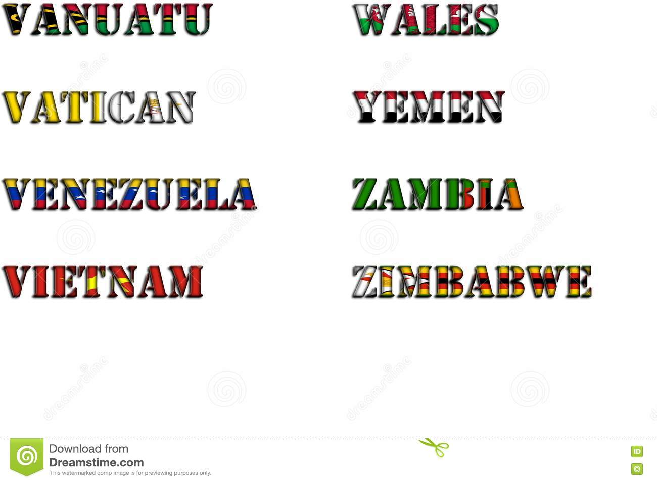 Name Of Country That Starts With The Letter D