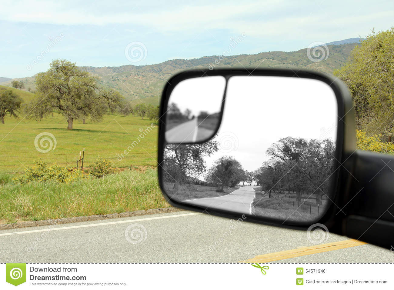 Download A country road. stock photo. Image of remorse, past, black - 54571346