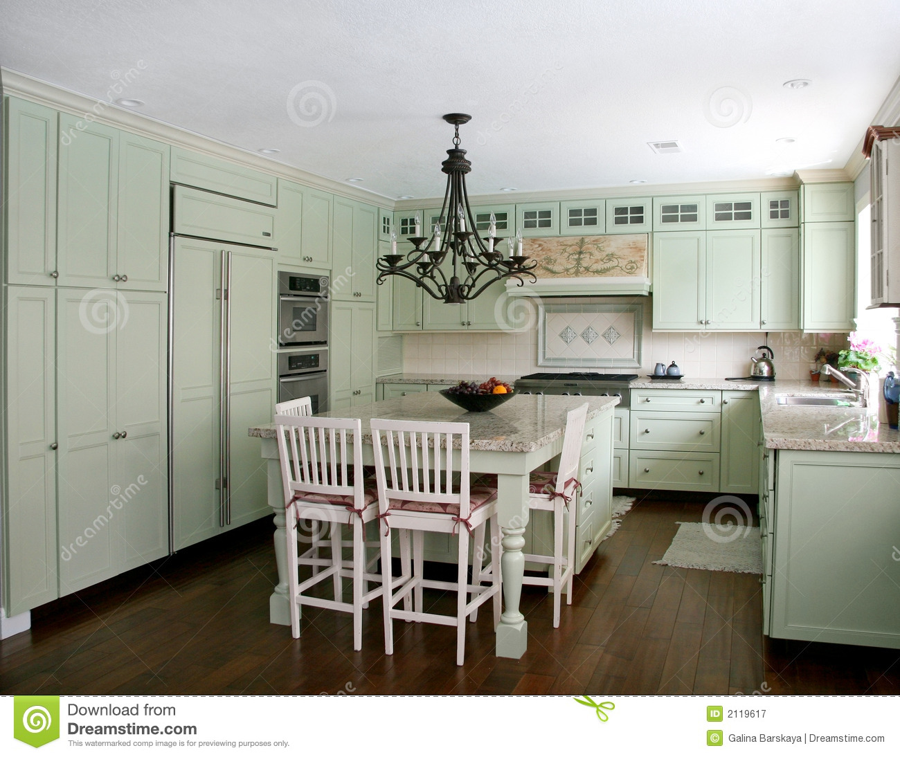 Country Style Kitchen Royalty Free Stock Photography Image 2119617