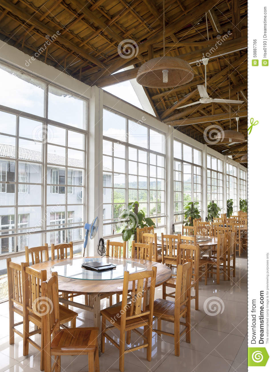 A Country Style Restaurant Stock Photo Image Of Asian