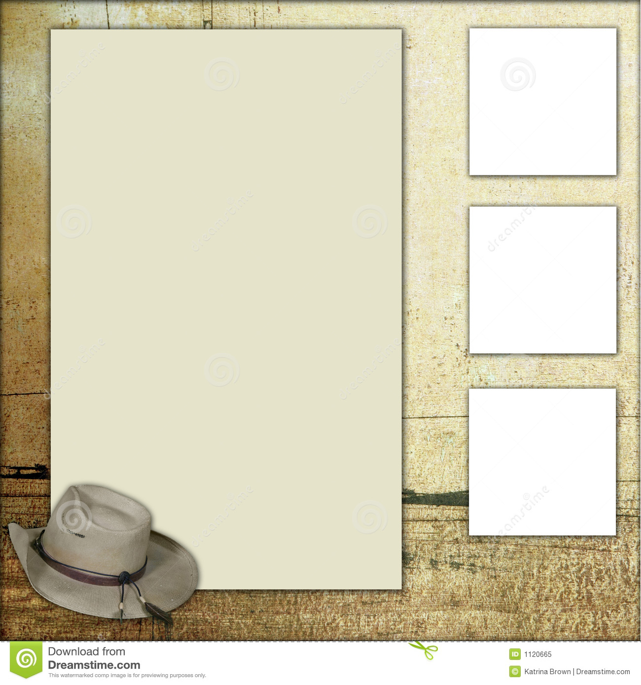 download country theme scrapbook frame template stock illustration illustration of image grungy 1120665