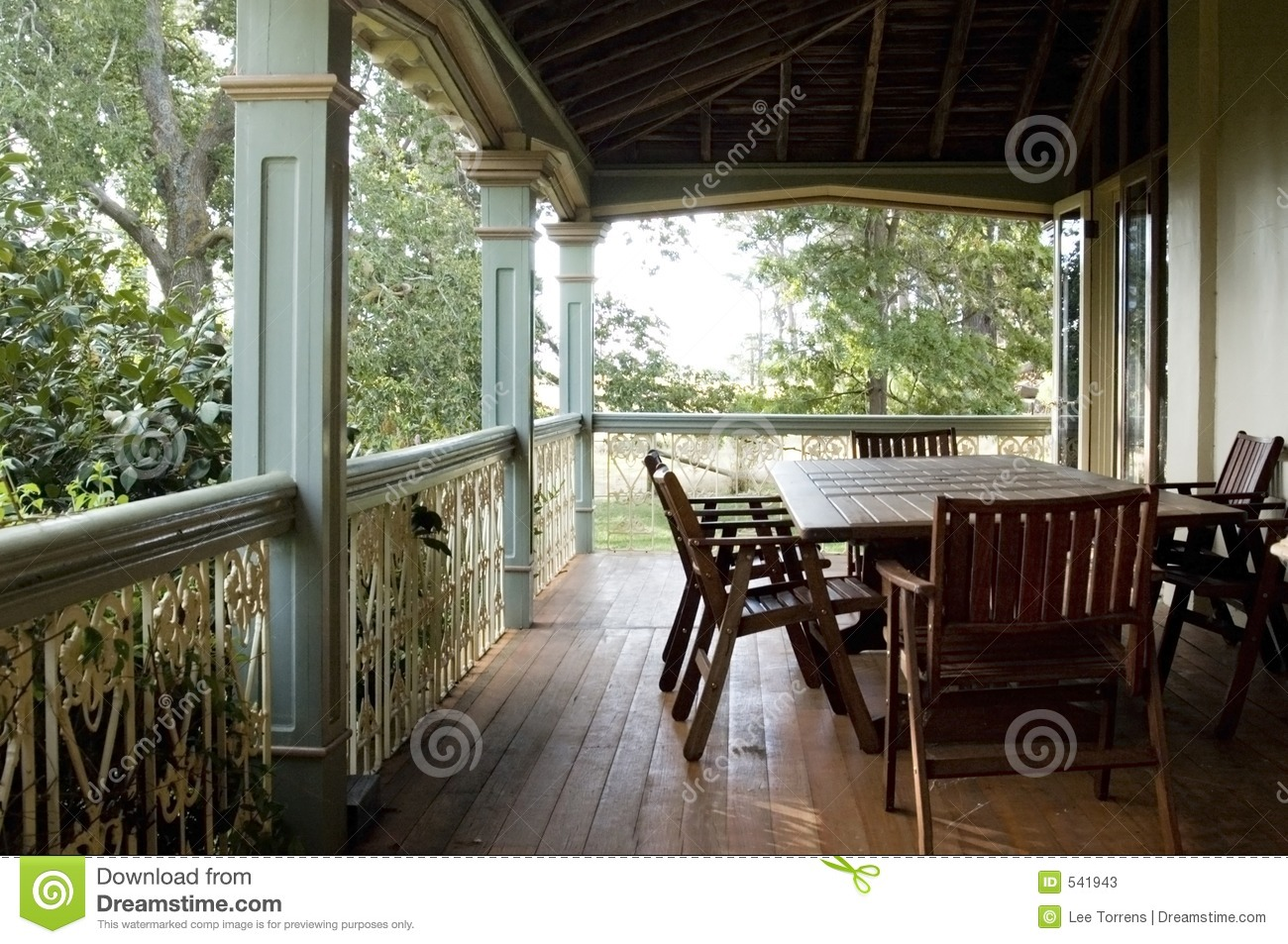 country veranda stock image image of brown family balcony 541943. Black Bedroom Furniture Sets. Home Design Ideas
