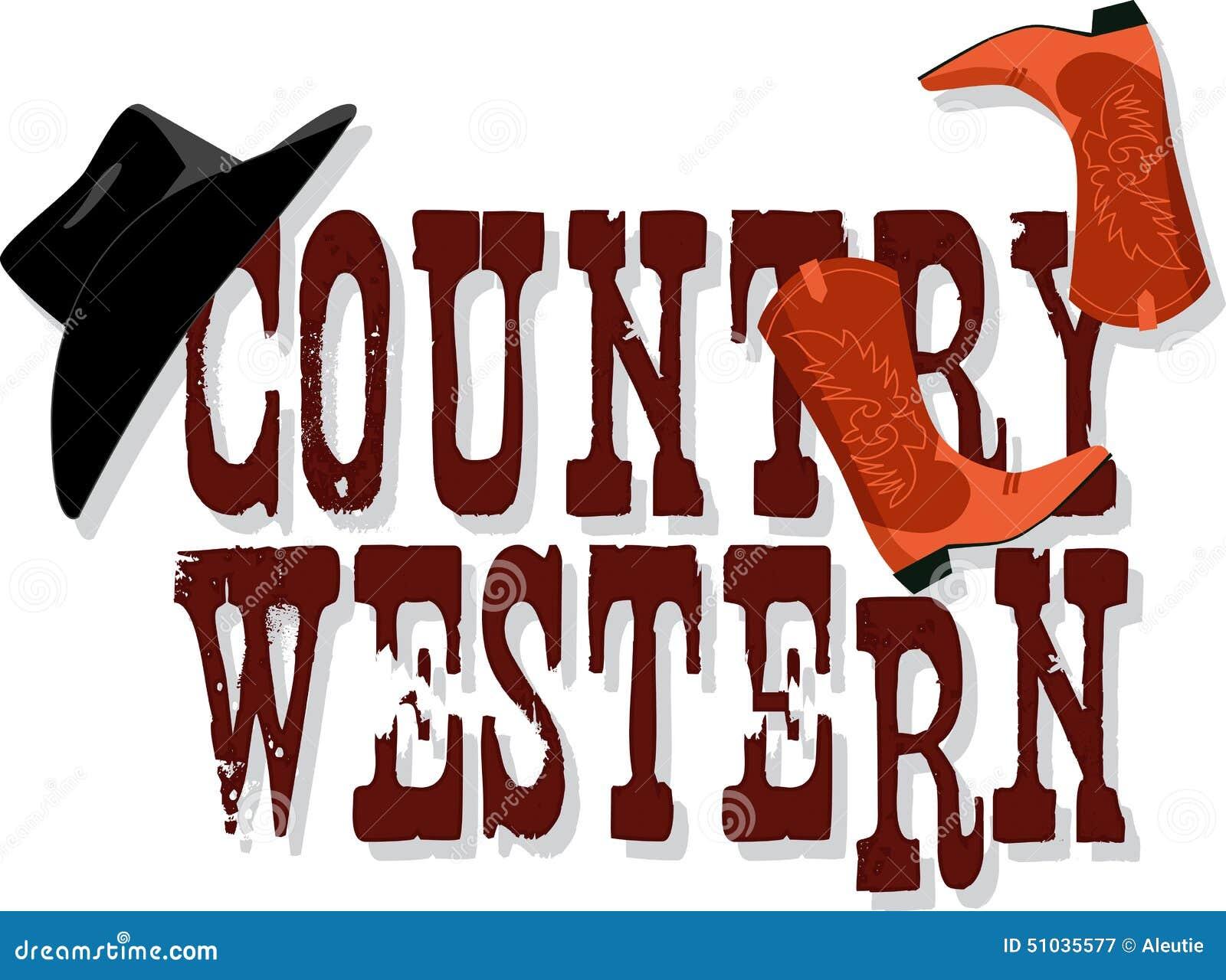 ... hat and cowboy boots, vector illustration, no transparencies, EPS 8