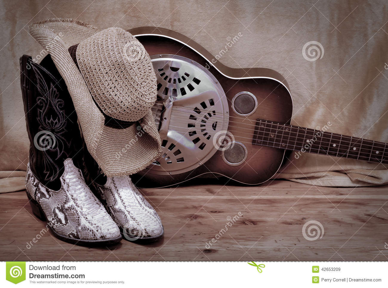 Country Western stock image. Image of western, dobro ...