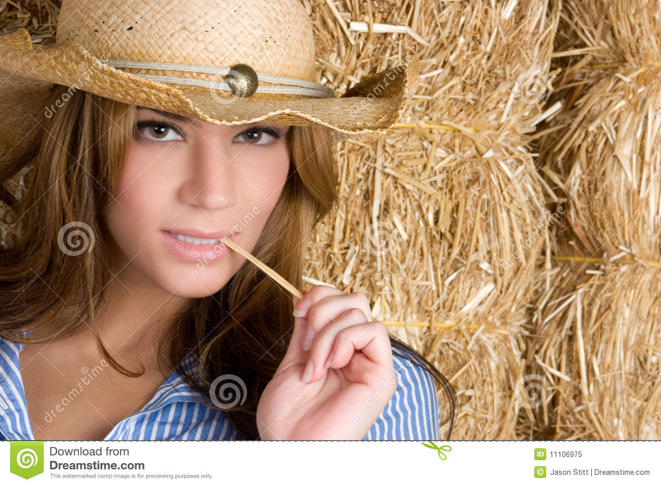 Country Woman Royalty Free Stock Photo - Image: 11106975