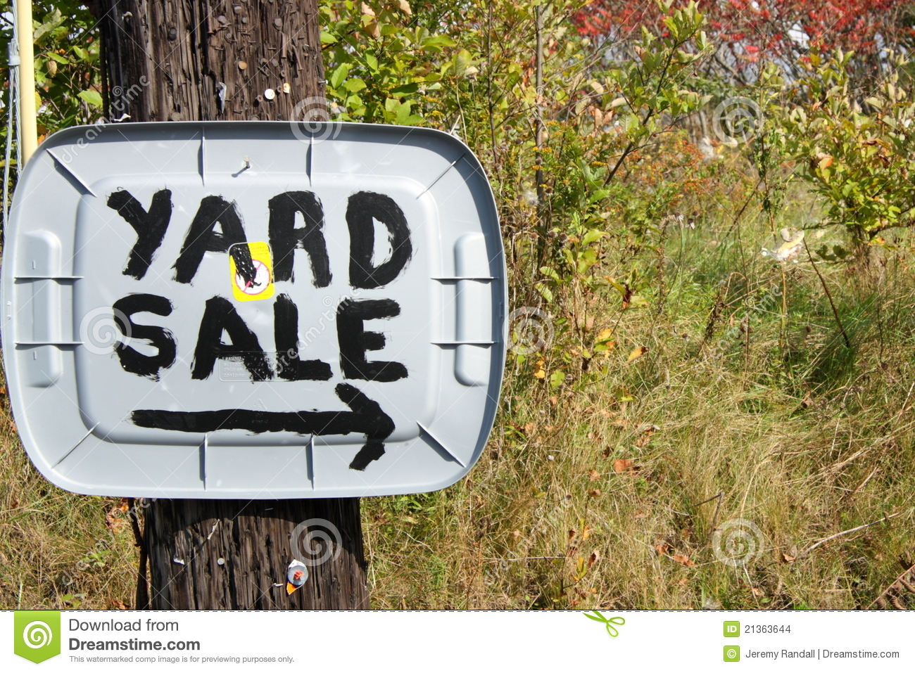Country Yard Sale Sign