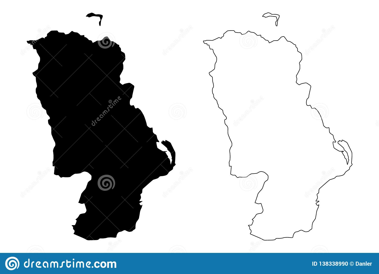 Map Of Northern Ireland Counties.County Antrim Map Vector Stock Vector Illustration Of Geography