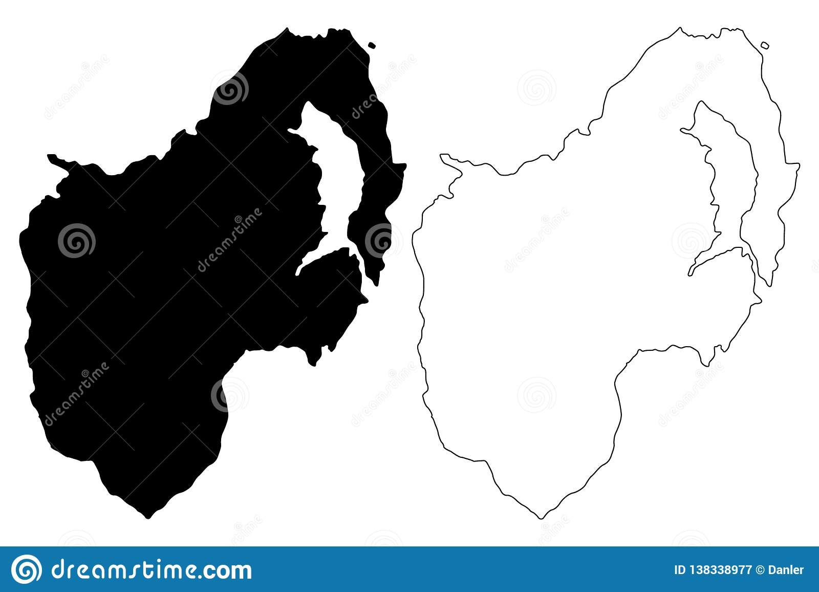 Map Of Northern Ireland Counties.County Down Map Vector Stock Vector Illustration Of Europe 138338977