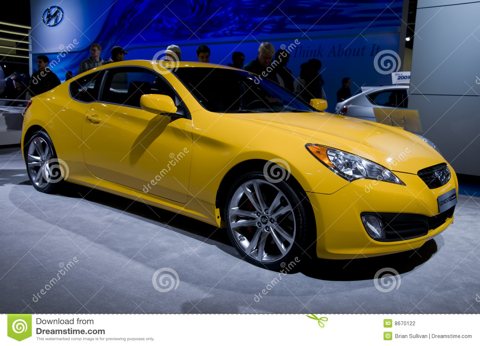 Coupé de genèse de Hyundai
