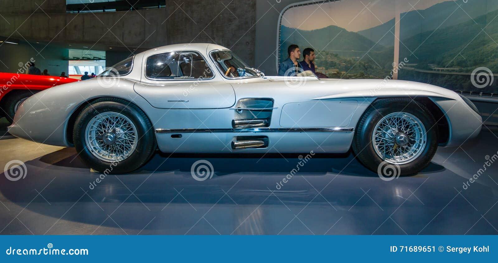 Coupe De Mercedes Benz 300 Slr Uhlenhaut De Voiture De Course 1955