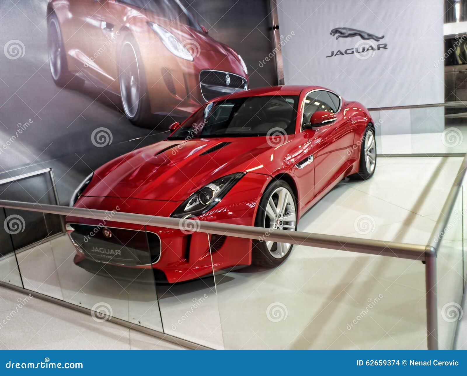 Coupé F tipo di Jaguar