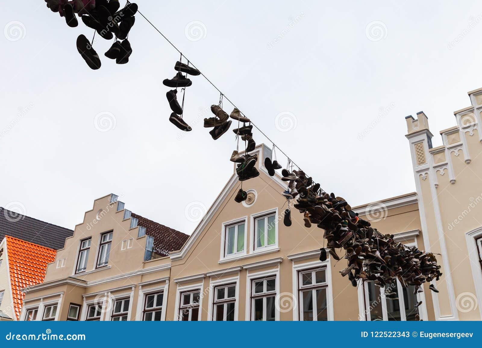 Le Chaussures Fil Abandonné Coup Sur Image De Électrique Stock FKJcTl13