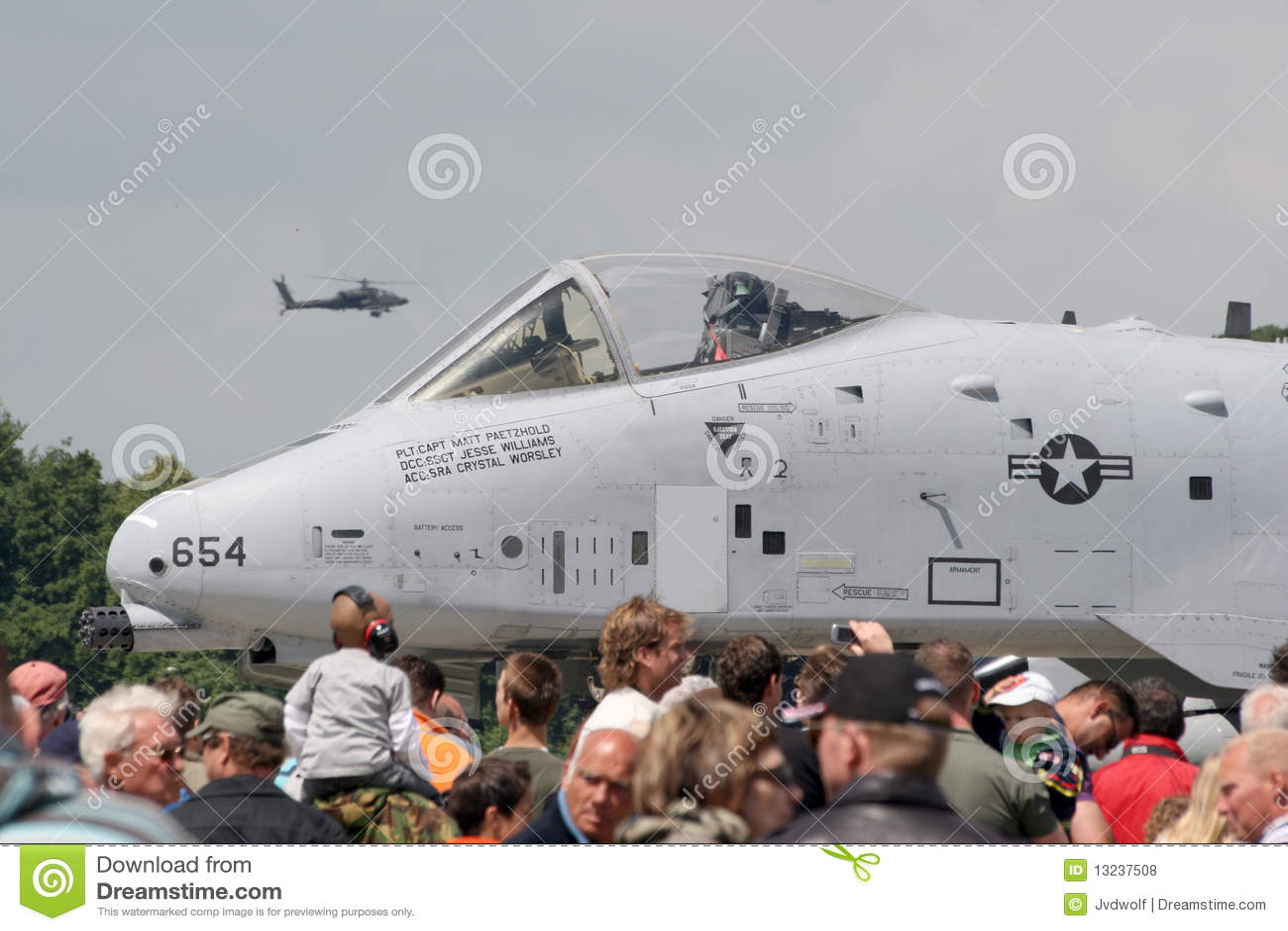 Coup de foudre de l U.S. Air Force A-10