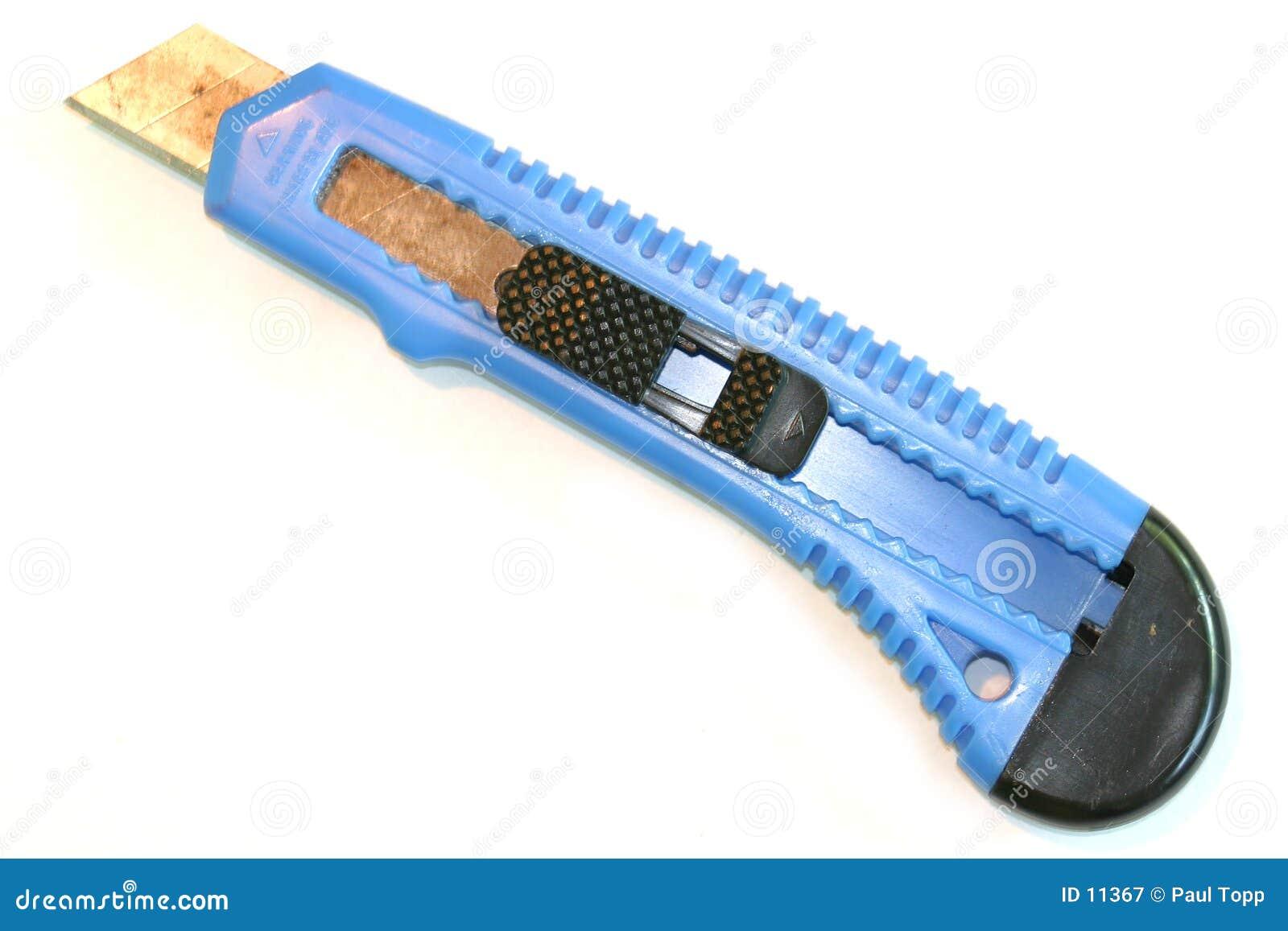 Coupeur de cadre bleu
