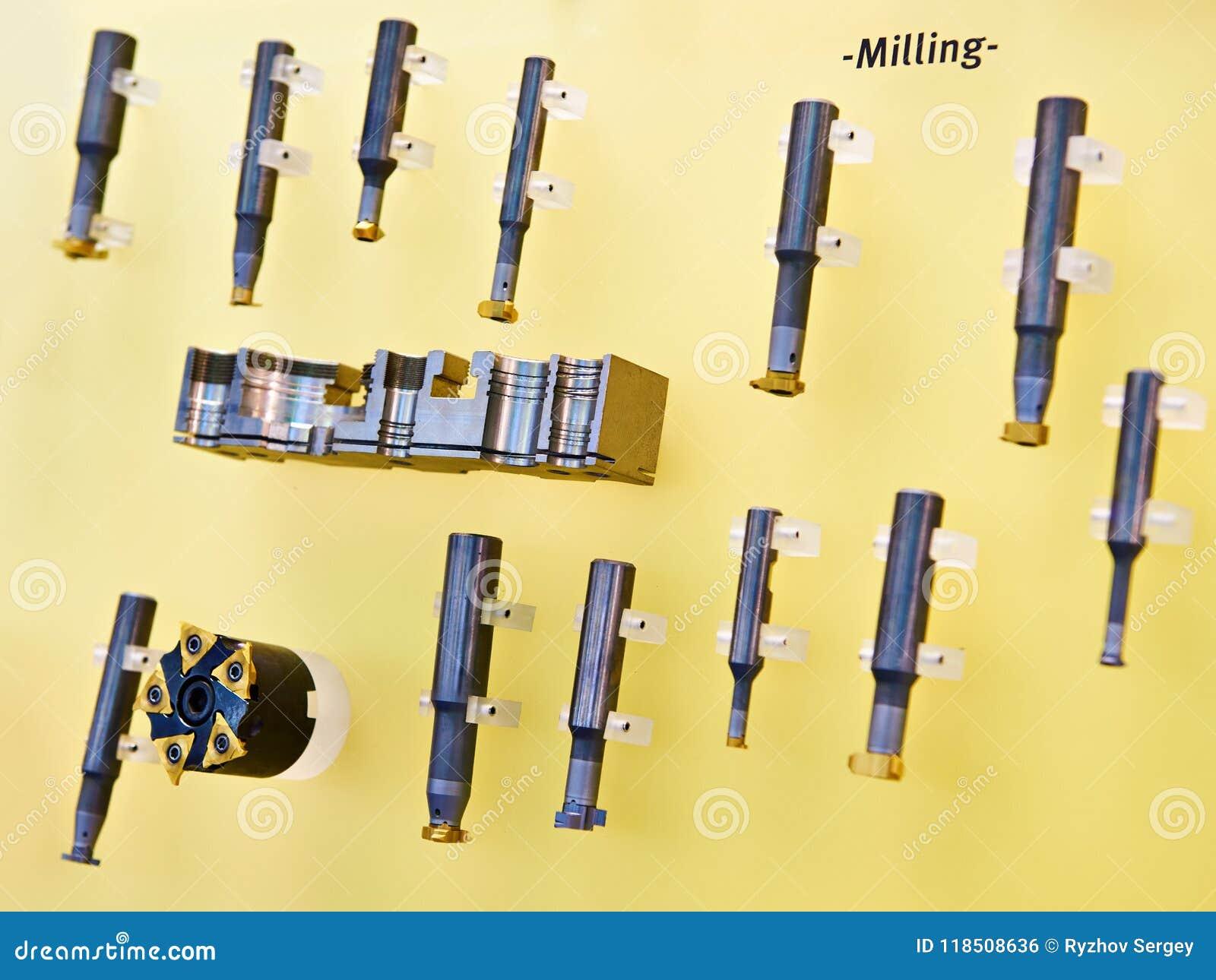 Coupeurs de fraisage pour le métal