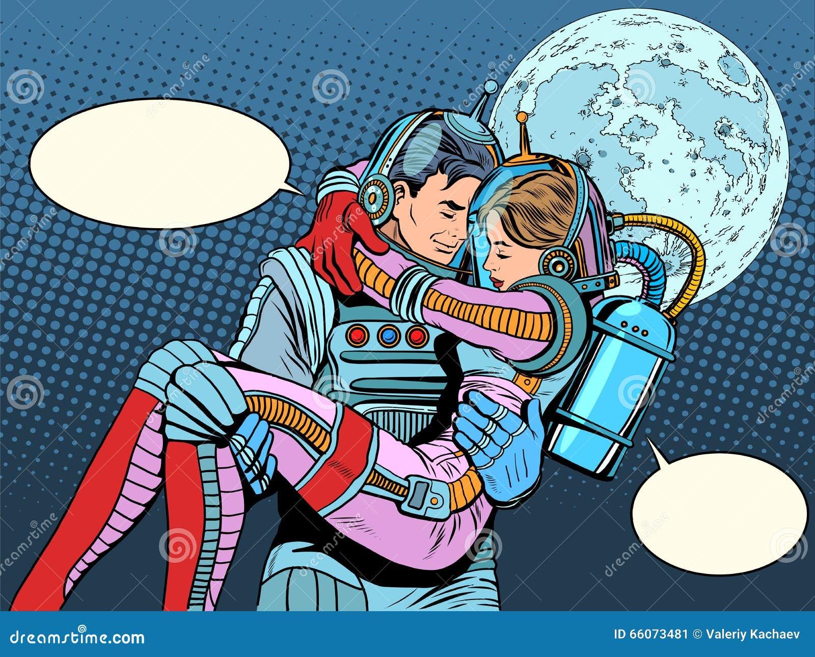 astronaut space love - photo #5