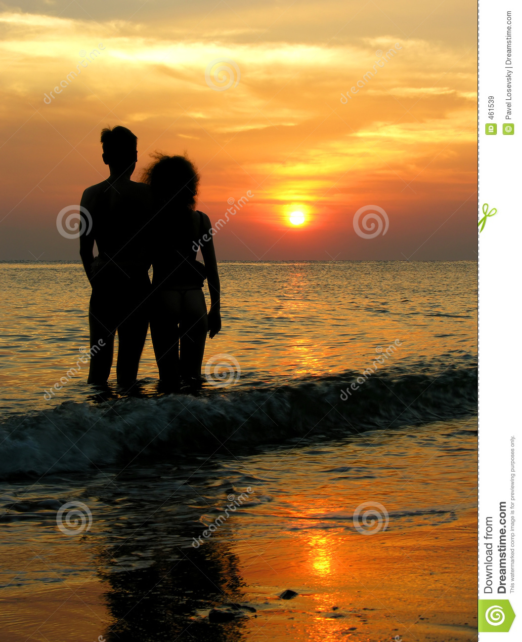 Couple At The Beach Stock Image Image Of Caucasian: Couple On Beach. Sunrise. Stock Image. Image Of Golden