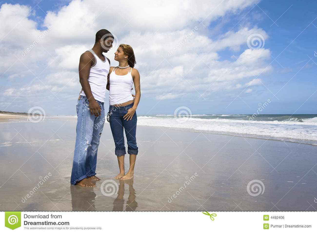 Couple on beach vacation royalty free stock image image for Best beach vacations in us for couples