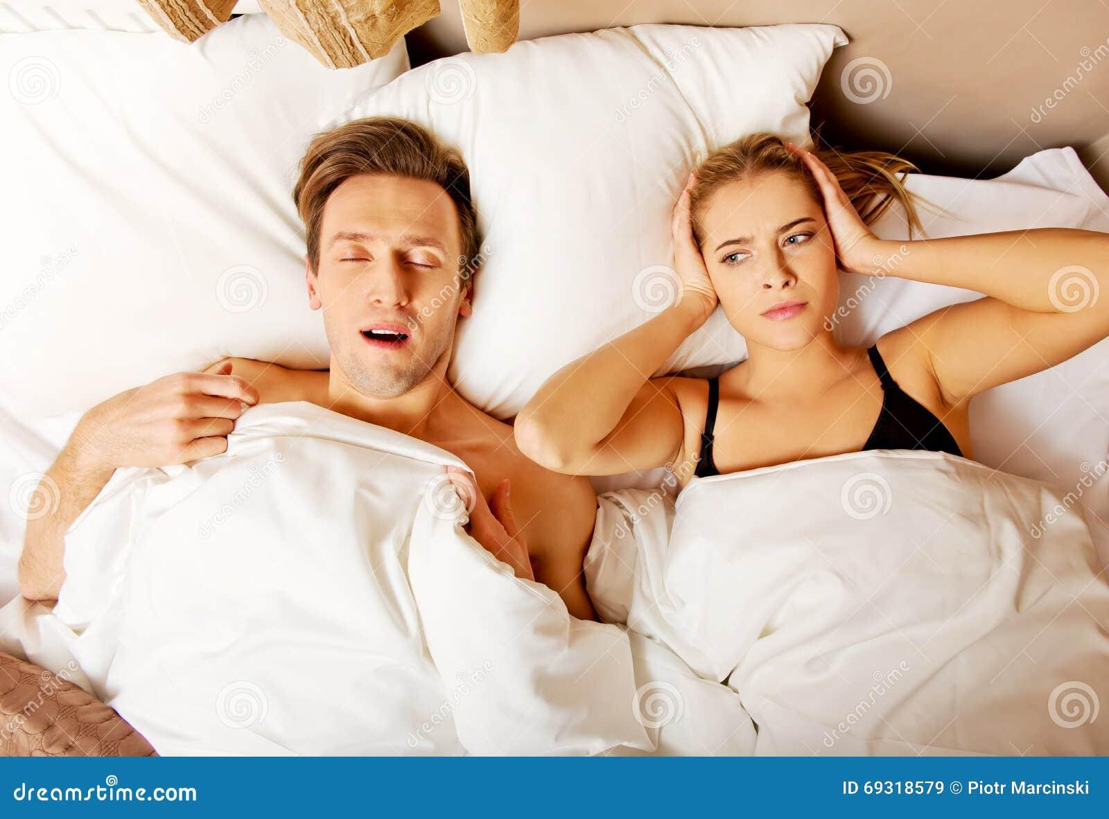 men women nude on bed