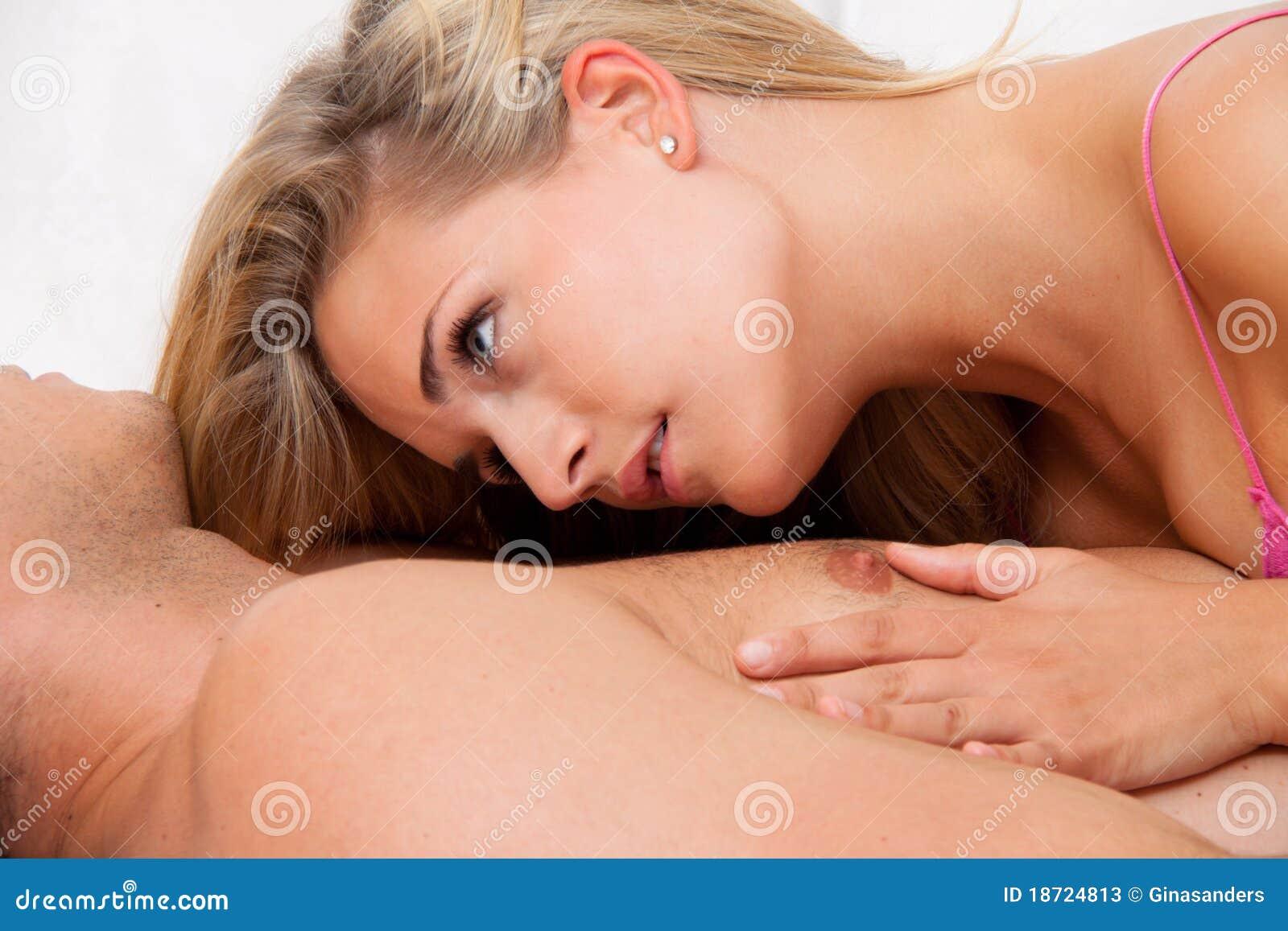 Woman orgasm reach