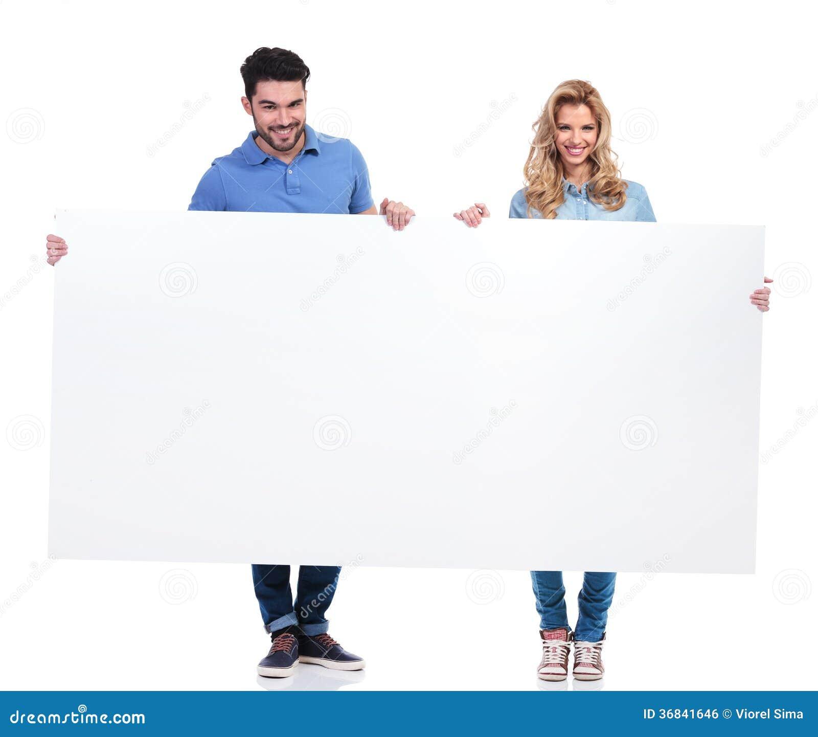 People presenting